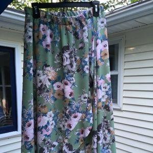 Green Envelope Skirt